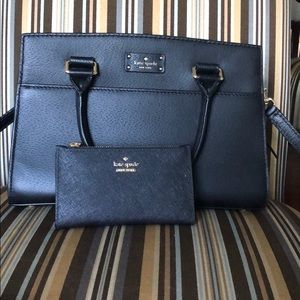 Kate Spade Black Purse and Wallet